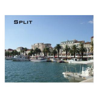 Hafen der Spalte Postkarte