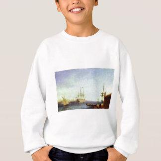 Hafen Maltas Valetto durch Iwan Aivazovsky Sweatshirt