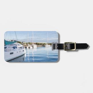 Hafen von Port- LouisHauptstadt von Mauritius Gepäckanhänger