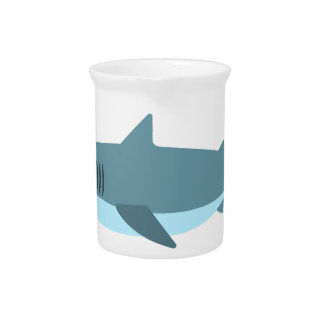 Hai-Primitiv-Art Getränke Pitcher
