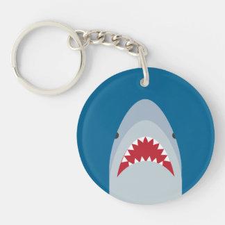 Haifisch-Acryl Keychain Schlüsselanhänger