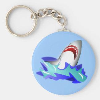 Haifisch-Aufstieg Schlüsselanhänger