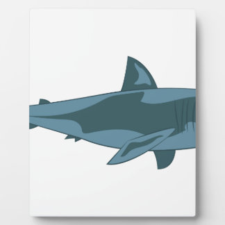 Haifisch Fotoplatte