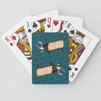 Haifisch-Gebiet - Spielkarten
