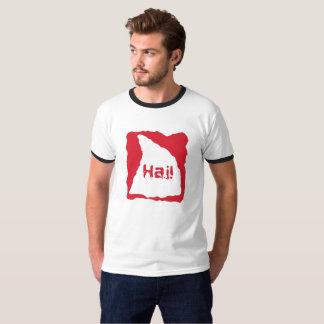 Haifisch! im Deutschen = in Hai! T - Shirt
