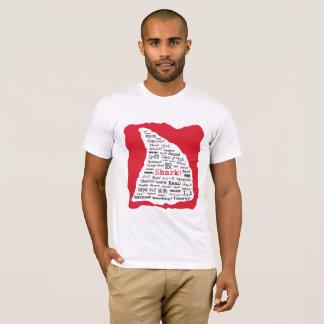 Haifisch! in den Losen des SprachT - Shirt
