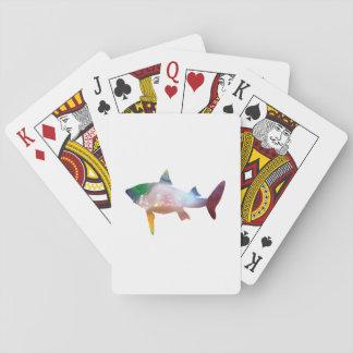 Haifisch-Kunst Spielkarten
