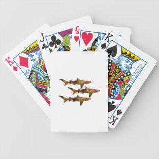 Haifisch-Raserei Bicycle Spielkarten