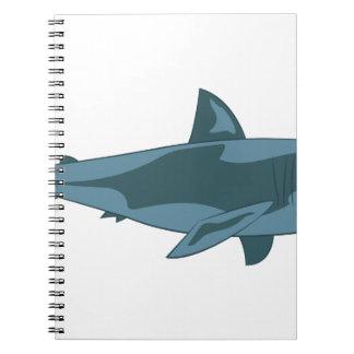Haifisch Spiralblock