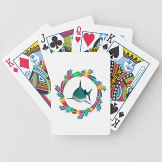 Haifisch-Sterne Bicycle Spielkarten