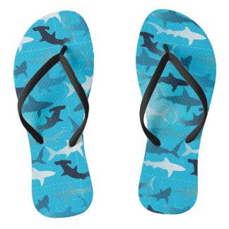 Haifische! Flip Flops