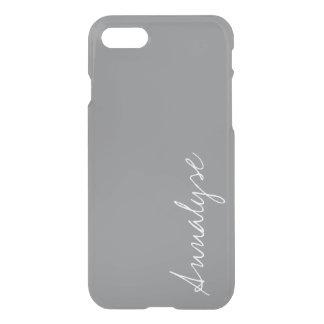 Haifischhaut-graue moderne neutrale iPhone 8/7 hülle