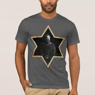 Haile Selassie Davidsstern T-Shirt