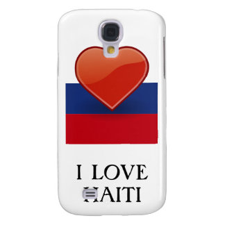 Haiti-Flaggen-Geschenke Galaxy S4 Hülle