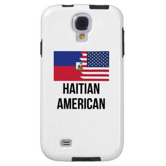 Haitianische amerikanische Flagge Galaxy S4 Hülle