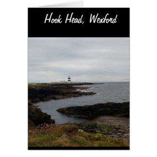 Haken-Kopf, Wexford, Irland Karte
