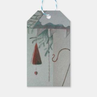 Haken und Glockenspiel Geschenkanhänger