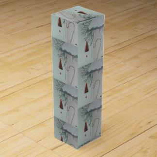 Haken und Glockenspiel Wein-Geschenkverpackung