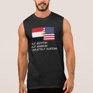 Halb ägyptisches vollständig fantastisches ärmelloses shirt