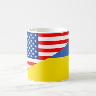 halbe Flagge USA Vereinigter Staaten Amerika Kaffeetasse