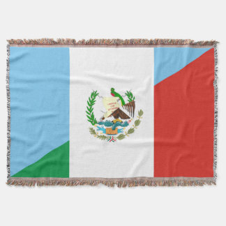 halbes Flaggensymbol Guatemalas Mexiko Decke