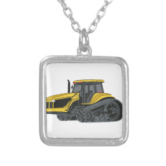 Hallo Bahn-Traktor Versilberte Kette