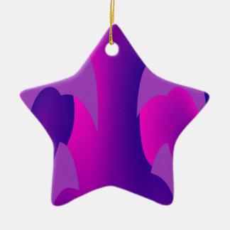 Hallo dort keramik Stern-Ornament