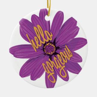 Hallo herrliche Verzierung Keramik Ornament