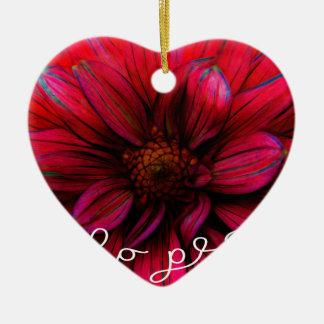 Hallo hübsch keramik Herz-Ornament