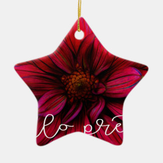 Hallo hübsch keramik Stern-Ornament