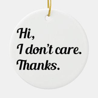 Hallo interessiere mich ich nicht keramik ornament