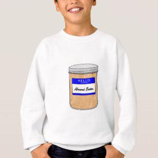 Hallo ist mein Name Mandel-Butter Sweatshirt