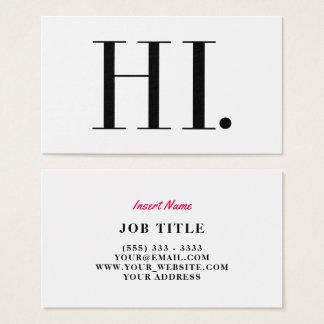 Hallo Mode-Chic Visitenkarte