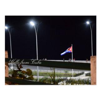 Hallo von Kuba Postkarte