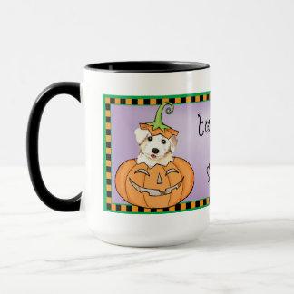 Halloween Bichon Tasse