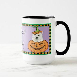 Halloween Eskie Tasse