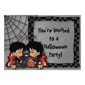 Halloween-Fee scherzt Party Karte