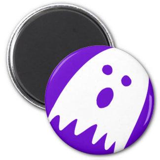 Halloween-Geist-Kühlschrank noticeboard Magnet Runder Magnet 5,7 Cm