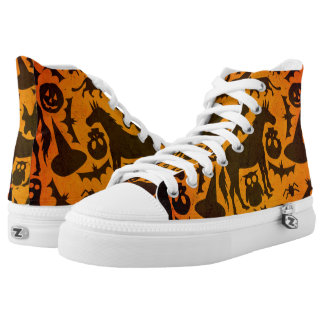 Halloween-Gespenst-Einhorn Hoch-geschnittene Sneaker