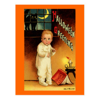 Halloween-Gruß Postkarten