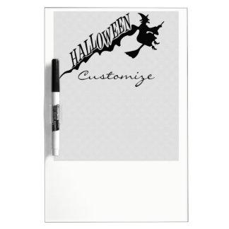 Halloween-Hexe-Reitbesen Thunder_Cove Memoboard