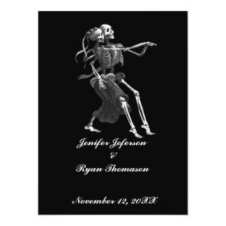 Halloween-Hochzeit Einladung