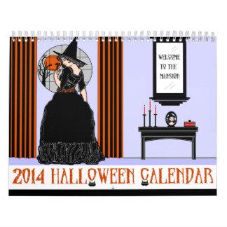 Halloween-Kalender 2014 Kalender