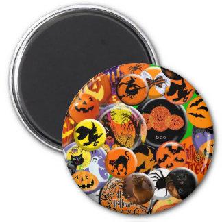Halloween knöpft ringsum Magneten Runder Magnet 5,1 Cm