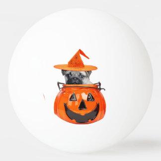 Halloween-Mopshund Tischtennis Ball