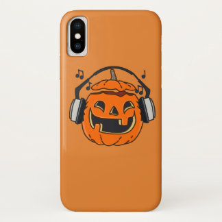Halloween music iPhone x hülle