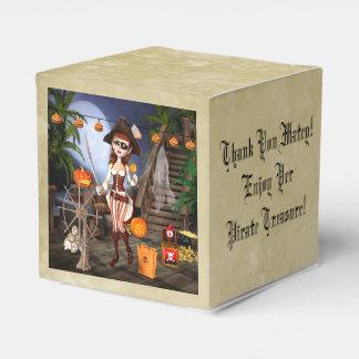Halloween-Piraten-Mädchen-personalisierter Geschenkschachtel