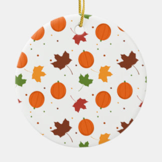 Halloween Rundes Keramik Ornament