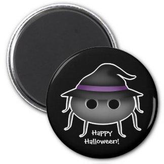 Halloween-Spinnenverzierung Runder Magnet 5,1 Cm