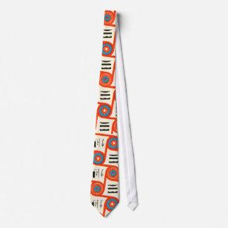 Hals-Krawatte Fünfzigerjahre des kreativen Personalisierte Krawatten